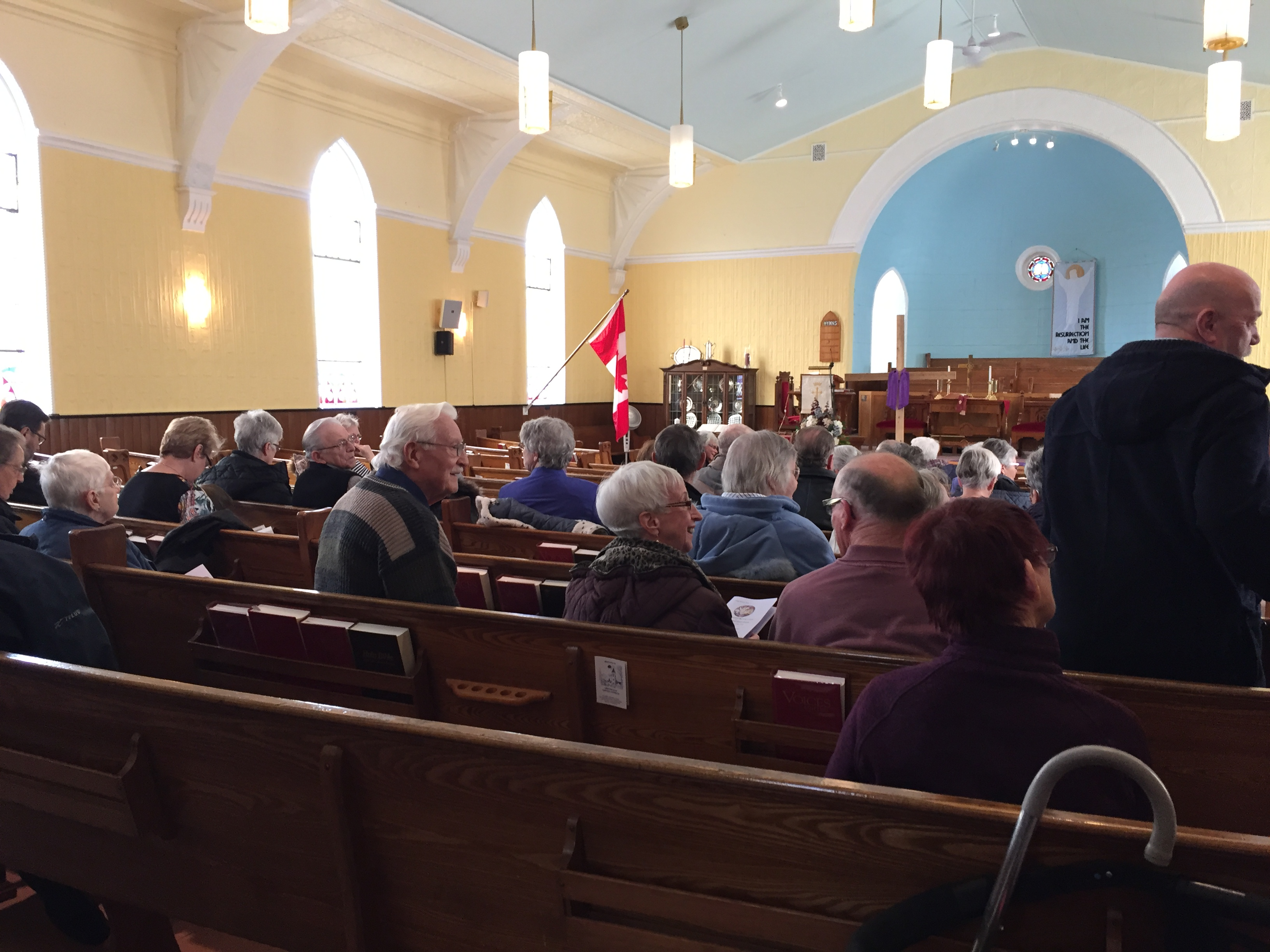 February Sunday services are at 10 a.m. in Smithfield